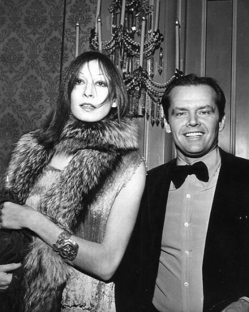 Анжелика Хьюстон (Anjelica Huston) и Джек Николсон (Jack Nicholson)