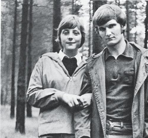 фото ангела меркель в молодости