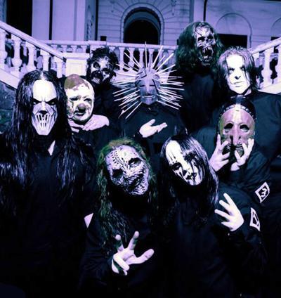 Slipknot фото в масках