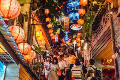 Синьбэй, ТайваньИменно эта улица вдохновила создателей мультфильма