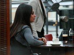 8 фото. Шоу-бизнес. Голливудская звезда Мила Кунис приехала в Москву
