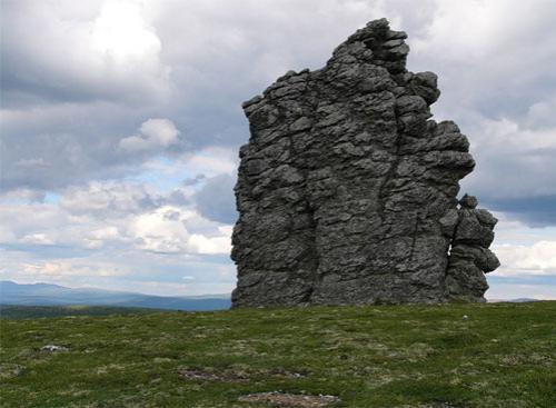 Около 200 миллионов лет назад на месте каменных столбов были высокие горы...