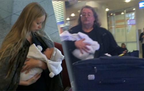 В 2014 году у пары родился сын Александр.