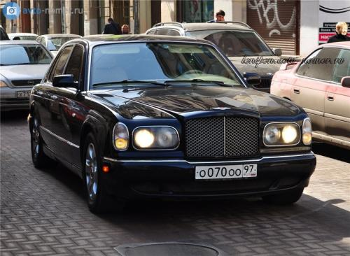 Максим Галкин и Bentley Arnage RL