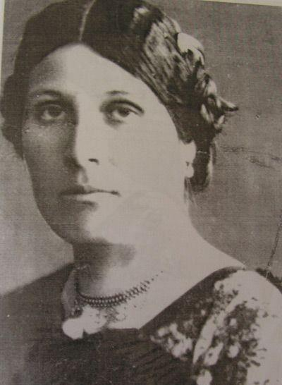 Жена Федора Махнова - Ефросинья
