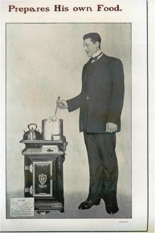 Сохранились архивные сведения о пребывании великана Махнова в немецкой столице в 1904 году. Немцы готовы были исполнять любые капризы белорусского гулливера.