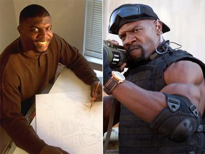 Терри Крюс (Terry Crews), 44 года
