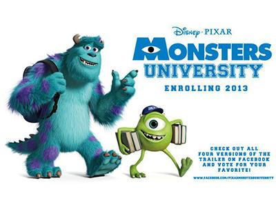 ����������� �������� 2: ����������� �������� / �Monsters University�
