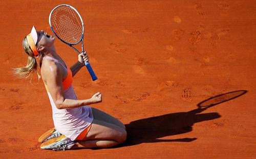 ����� �������� ����� ������ ��� ������� ����� � ������ French Open.