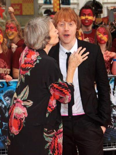 ������ ����� (Rupert Grint) � ����� ���� (Maggie Smith)