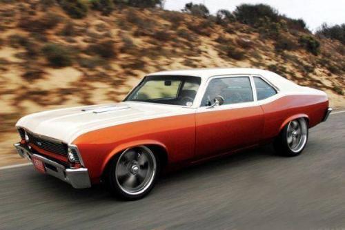 Chevrolet Nova 1970  Модель получила главную роль в фильме Квентина Тарантино «Доказательство Смерти» 2007 года. В процессе съемок было уничтожено четыре автомобиля, тюнинг которых осуществлялся по особой задумке Тарантино. По сюжету автомобиль является орудием, при помощи которого серийный убийца расправляется со своими жертвами.