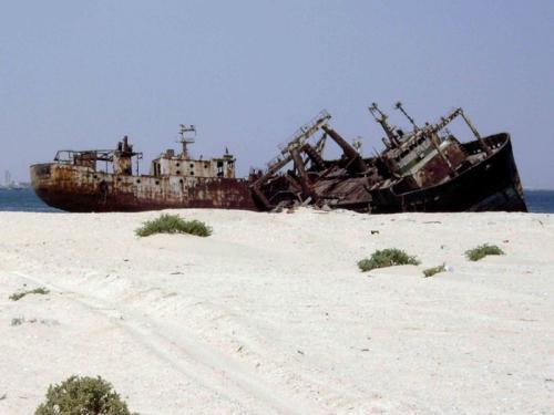 Нуадибу – самое большое в мире кладбище кораблей