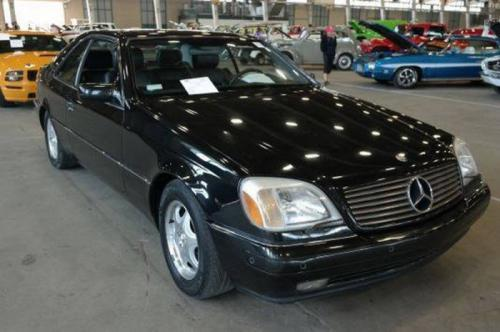 1999 Mercedes-Benz S500 Coupe, $2,100
