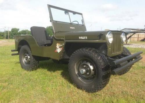 1948 Willys Jeep V8, МКПП, $6,000