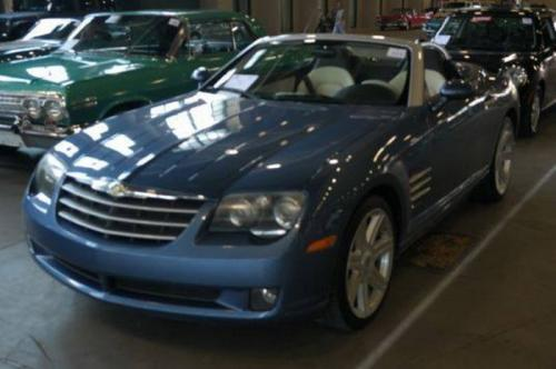 2005 Chrysler Crossfire (Mercedes SLK), АКПП, белая кожа, $8,400