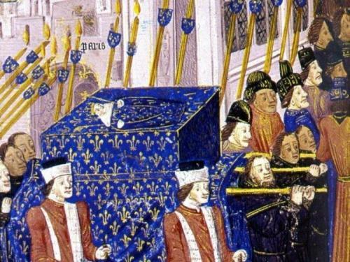 Иоанн I - король, который правил всего 5 дней Иоанн I стал королем Франции и Наварры сразу после своего рождения в 1316 году, т.к. его отец-король умер еще до рождения наследника. Младенец прожил всего пять дней, за что получил имя Иоанн I Посмертный. По стране ходило множество слухов. Одни говорили, что маленького монарха отравил его дядя, а другие считали, что ребенка украли, чтобы спасти, а вместо него подложили труп. Впоследствии во Франции несколько раз объявлялись самозванцы, выдававшие себя за выжившего Иоанна I. Иоанн I - король Франции с 15 ноября 1316 по 20 ноября 1316 гг.