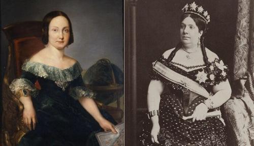 Королева Испании Изабелла II Изабелла II взошла на испанский престол в 3-летнем возрасте в 1833 году. Ей не повезло только в одном – она родилась девочкой. Дело в том, что ее отец Фердинанд VII долгое время не имел детей, но отдавать престол своему брату Карлу он тоже не собирался. Поэтому, когда королева наконец-то забеременела, монарх издал указ, согласно которому родившийся ребенок, независимо от пола, станет правителем Испании.Королева Испании Изабелла II, правившая в 1833-1868 гг.