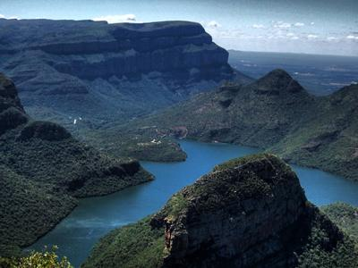 Каньон реки Блайд (Blyde River Canyon), Мпумаланга, ЮАР.