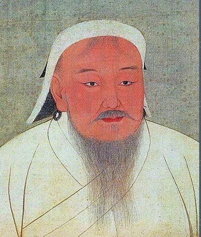 10 место - Чингисхан.