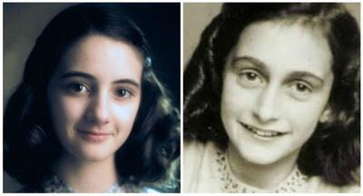 Ханна Тэйлор-Гордон в роли Анны Франк, фильм «Анна Франк» / Anne Frank: The Whole Story
