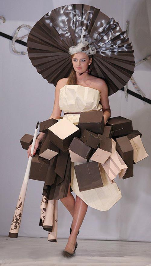 """В Японии бумажные  """"ткани """" уже получили широкое распространение."""
