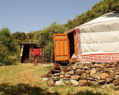 8. The Hoopoe Yurt Hotel, Испания