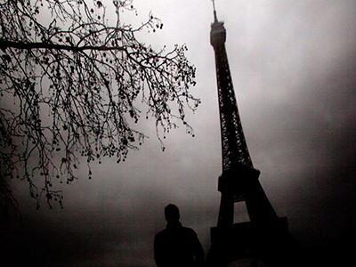 Похвальный отзыв жюри:  «Эйфелева башня выглядит зловеще на этом снимке, который был сделан пасмурным зимним днем». (Indra Swari Wonowidjojo)