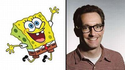 Спонгебоб Скварепантс (Spongebob Squarepants) в исполнении Тома Кенни  (Tom Kenny )…