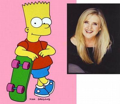 Ненси Картрайт (Nancy Cartwright)  - Барт Симпсон ( Bart Simpson) из «Симпсонов»…