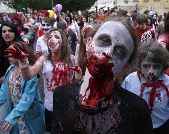 В Англиии прошел самый страшный флешмоб в мире