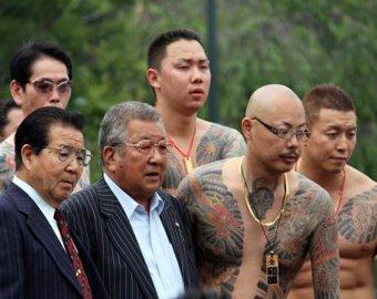 Японские мафиози объединились в интернете
