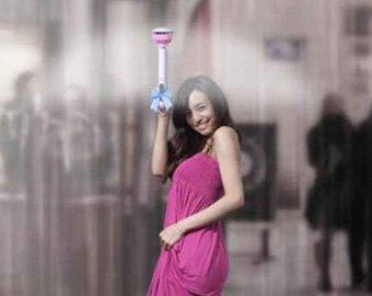 Китайцы изобрели зонт-невидимку
