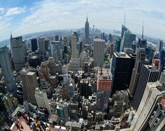 Американцы увидели в небе над Нью-Йорком портрет Путина