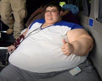 Толстый мужчина папа видео