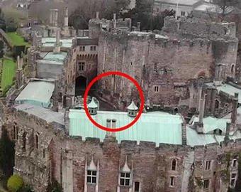 В старинном английском замке засняли призрак всадника