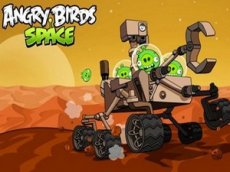 В новой версии Angry Birds Space свиньи захватили марсоход