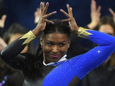 Зажигательное выступление американской гимнастки стало вирусным