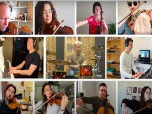 Живущие в разных странах мира музыканты записали «COVID Romanсe»