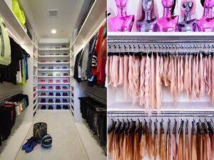 10 умопомрачительных гардеробных знаменитостей