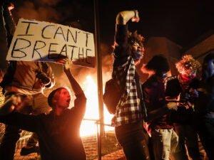 Акции протеста в Миннеаполисе