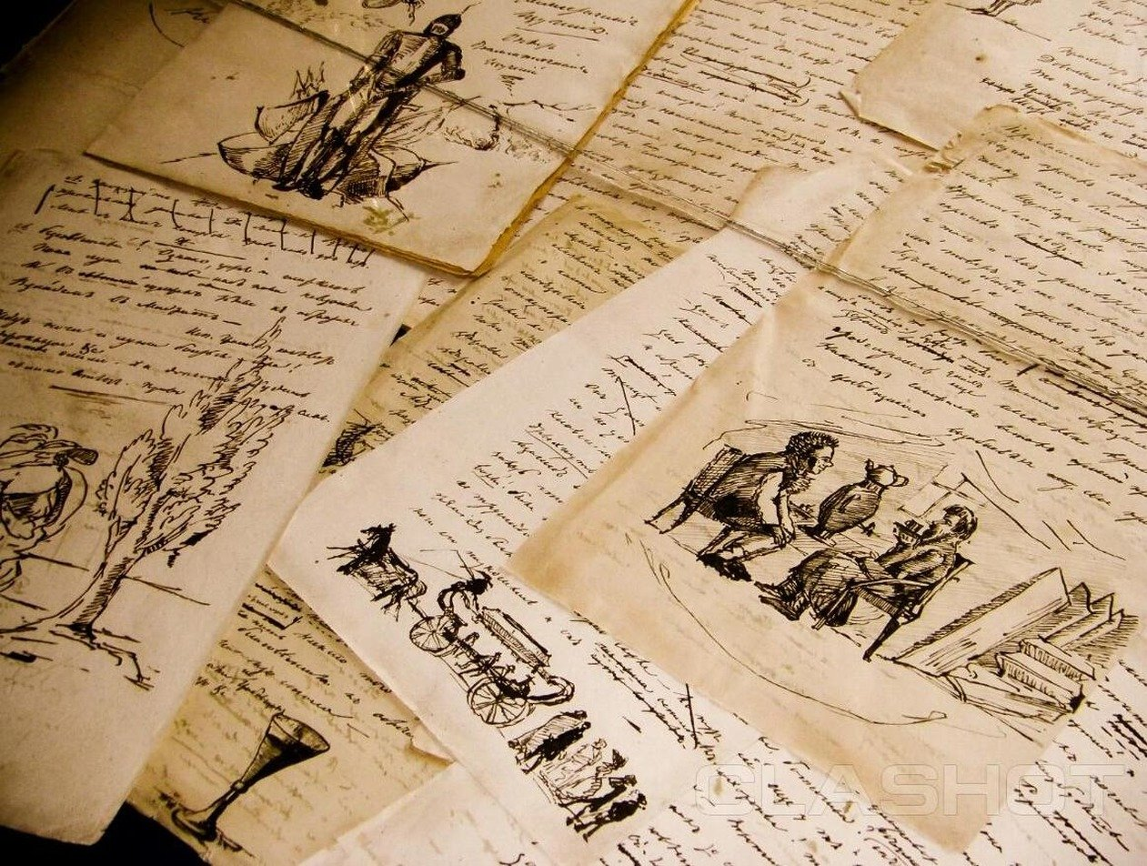 Любовница украла у москвича рукопись Пушкина за 75 млн рублей