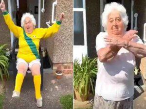 88-летняя любительница танцев стала звездой TikTok