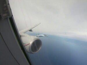 Су-35 перехватил самолет-разведчик США