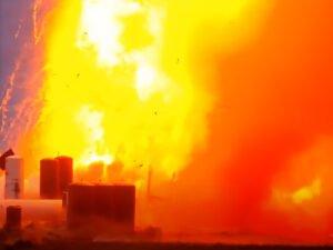 Ракета Илона Маска взорвалась во время испытаний
