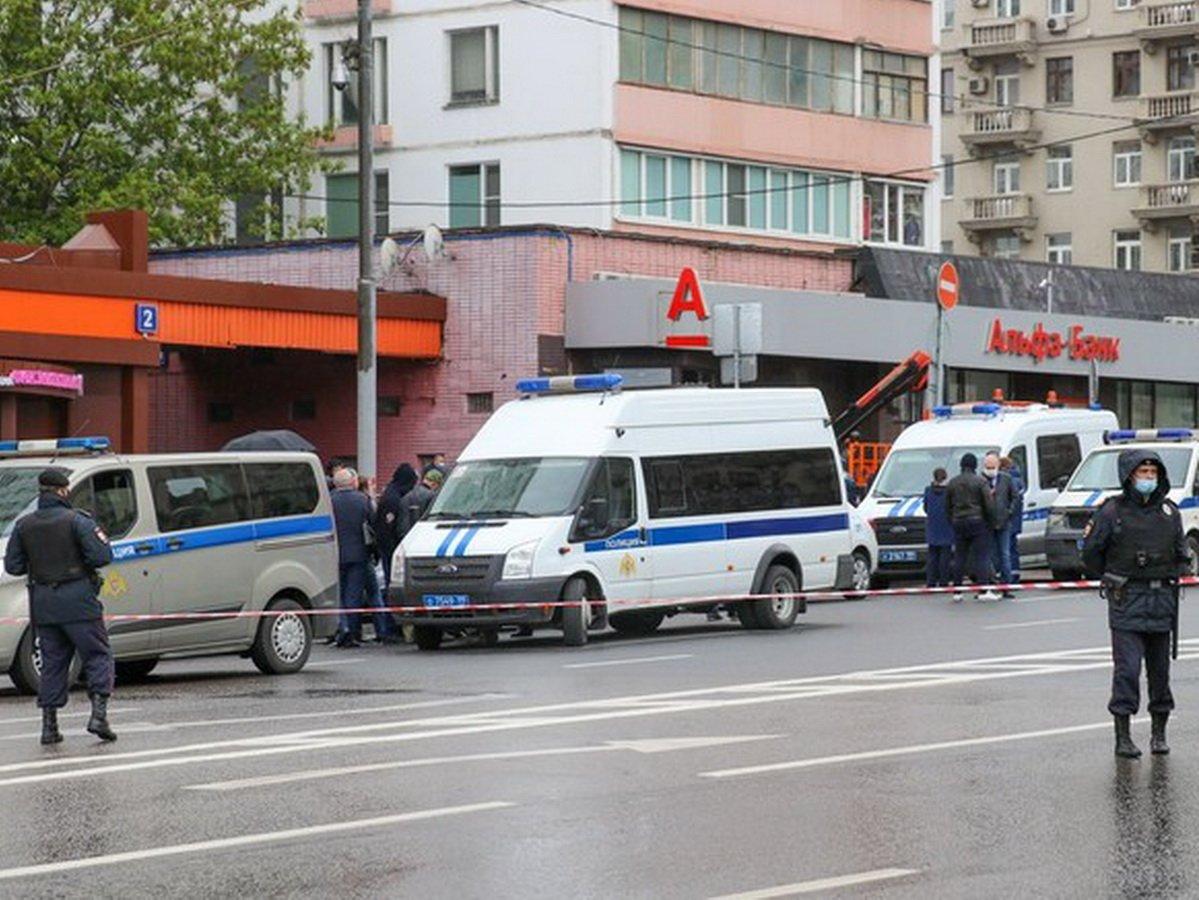 Захват заложников в Альфа-банке