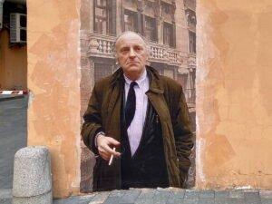 Граффити-портрет Бродского закрасили в Петербурге