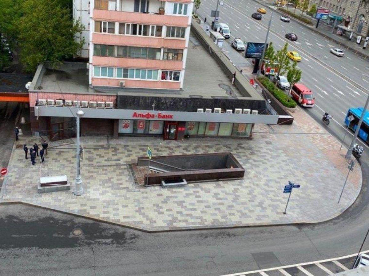 Захват заложников в Альфа-банке в центре Москвы