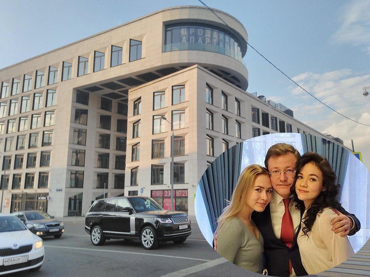 У дочери губернатора Самарской области нашли элитную квартиру в Москве