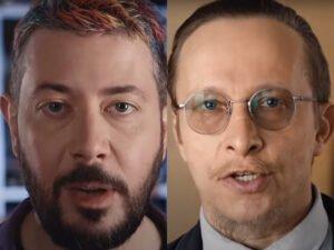 Лебедев и Охлобыстин рекламируют голосование по поправкам к Конституции