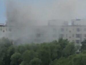 В жилом доме в Москве взрыв